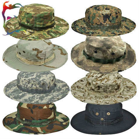 c3dc80184cc Black   White 100% Cotton Bucket Hat With Nylon Strings   Printed  Embroidered Patterns