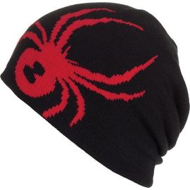 Unisex Spider Knitting  Acrylic Wool Innsbruck Pattern Reversible Chunky Beanie Hat For Men